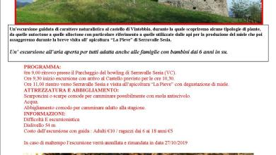 Photo of Escursione guidata al Castello di Vintebbio