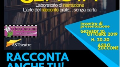 Photo of Con ASTheatre, le iniziative autunnali di teatro narrazione