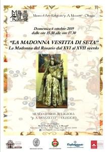locandina Visite guidate Oleggio Madonna Vestita
