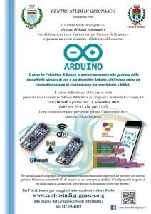 Volantino corso Arduino 2019