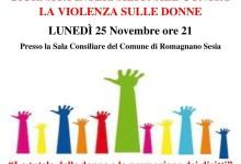 """Photo of Romagnano Sesia: """"Giornata Internazionale contro la violenza sulle donne"""""""