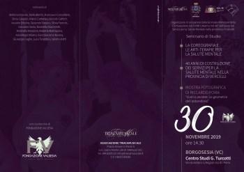 Pieghevole evento Centro Studi Turcotti 30 novembre