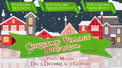 Photo of Borgosesia è Christmas Village 2019