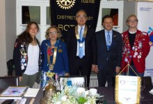 Photo of La governatrice del distretto in visita al Rotary Club Valsesia
