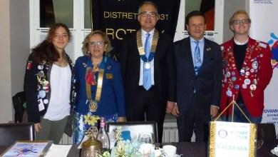 Photo of La governatrice del distretto in visita al Rotary Club Valsesia