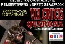 Photo of Quarona: La Via Crucis in diretta streaming su fb