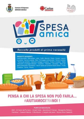 Spesa Amica Comune di Grignasco emergenza Covid-19
