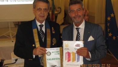 Photo of Visita del Governatore del Distretto 2031 al Rotary Club Valsesia