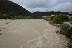 alluvione 2020 Borgosesia dal Ponte di Aranco. ph Roberto Santucci