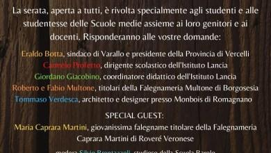 """Photo of On line la presentazione del """"Diploma artigiano del legno"""""""