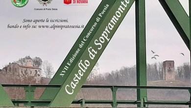 Photo of Prato Sesia: aperto il bando per il XVII Concorso Nazionale di Poesia Il Castello di Sopramonte