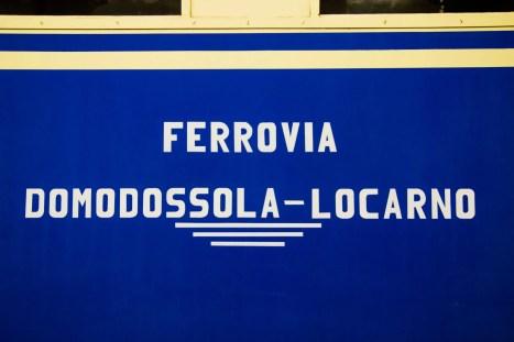 Ferrovia Vigezzina Centovalli - Treno storico - Intragna -Dettagli - ph. Christian Guerra