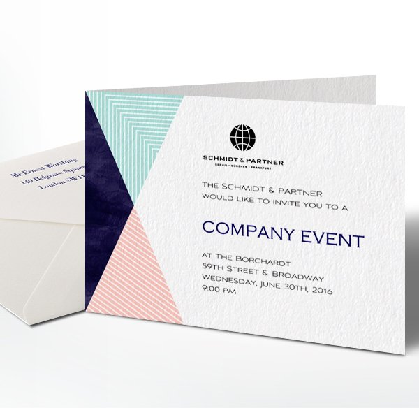 Impress Your Recipients With Professional Paper Invitations