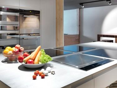 Der Blick auf den Kochbereich.