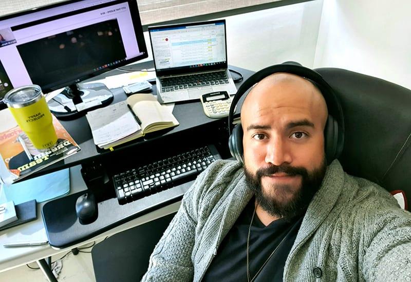 EMS 2020 Paco Collazo Selfie