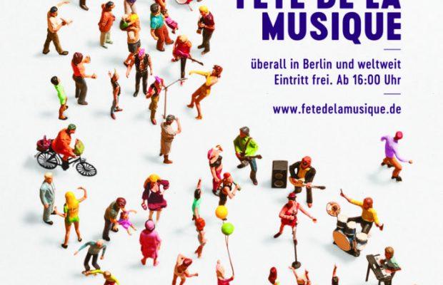 zur Sonne, zur Freiheit! Die Fête de la Musique erobert am Mitt¬woch, dem 21. Juni 2017, wieder die Straßen und Plätze Berlins. Der musikalische Sommerauftakt lockt mit Live-Musik aller Stil-richtungen drinnen und draußen und bei freiem Eintritt stets Zehntausende auf die Straßen.