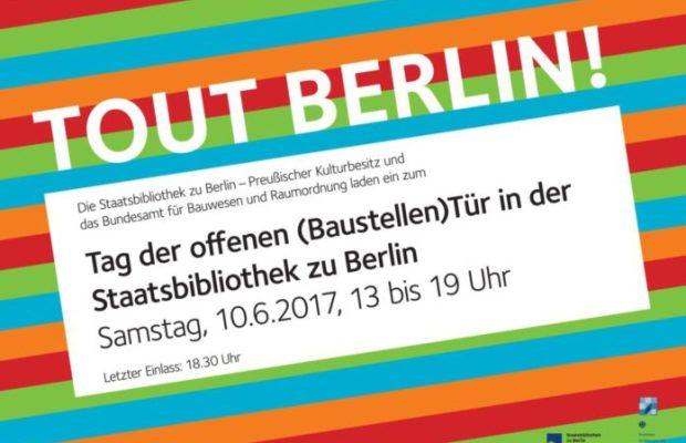 'Tout Berlin' willkommen am 10. Juni: Baustelle Unter den Linden