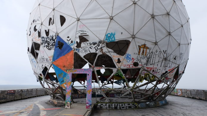 NSA-Abhörstation,#TeufelsbergBerlin,Kunst,Medien,#BerlinAusstellung