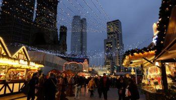 Weihnachtsmarkt,Gedächtniskirche,Berlin,#VisitBerlin,Unterhaltung