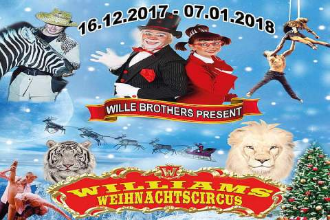 Williams Weihnachtscircus, Berliner Weihnachtscircus ,Berlin,#VisitBerlin,Gebrüder Wille,Kultur,Freizeit,Unterhaltung