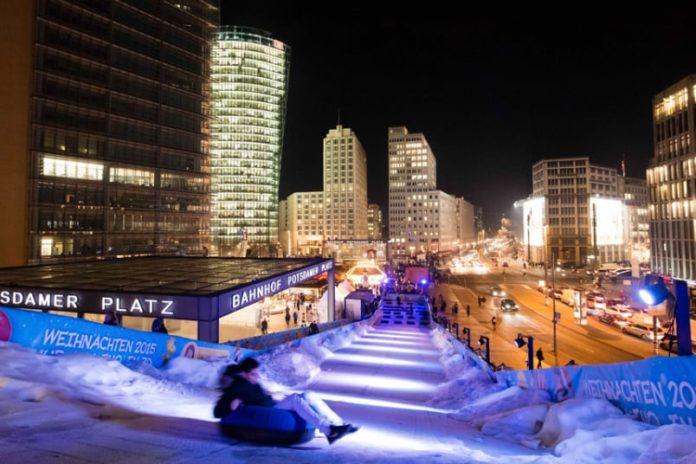 Winterwelt,Potsdamer Platz,Berlin,#VisitBerlin,Freizeit,Unterhaltung,Winter
