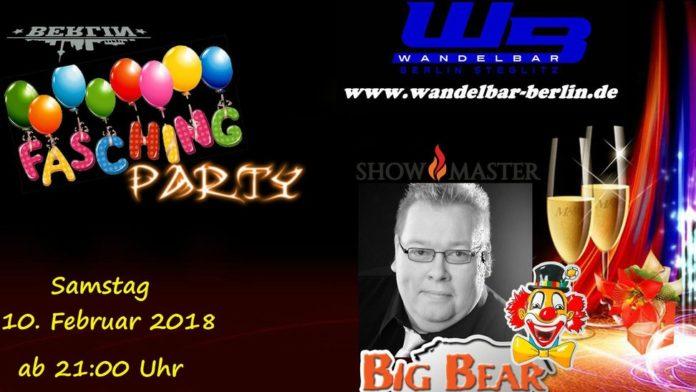 Berlin,Fasching,Party,WandelBar,Freizeit,Unterhaltung,#VisitBerlin