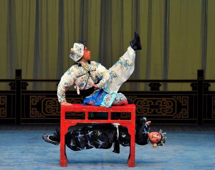Chinesisches Mondfest , Peking-Oper , Hubei , Gärten der Welt ,Berlin,#VisitBerlin,Freizeit,Unterhaltung, Lasershow