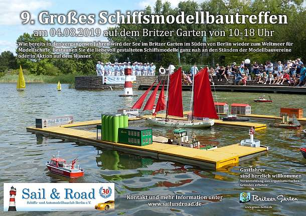 Schiffsmodelltreffen,Berlin,Britzer Garten,#EventNews,#BerlinEvent