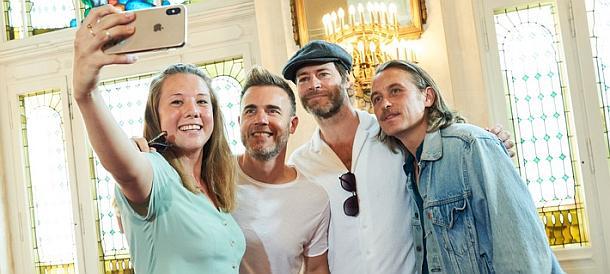 Take That auf Welttournee – Blitzbesuch bei ihrem Musical in Berlin