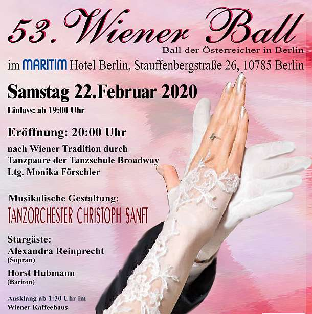 53. Wiener Ball in Berlin 2020