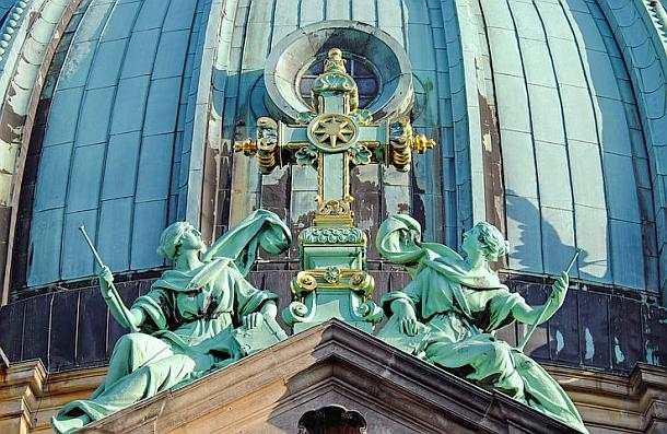 Berlin,Dom,Gottesdienst,Sonntag