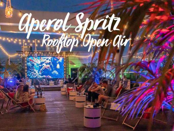Aperol Spritz Rooftop Open Air- 11. Juli 2020 ab 18 Uhr