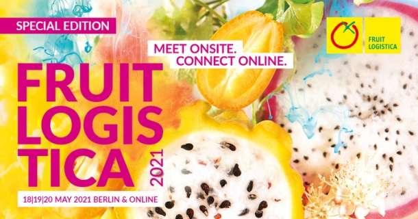 FRUIT LOGISTICA findet vom 18. bis 20. Mai 2021 statt