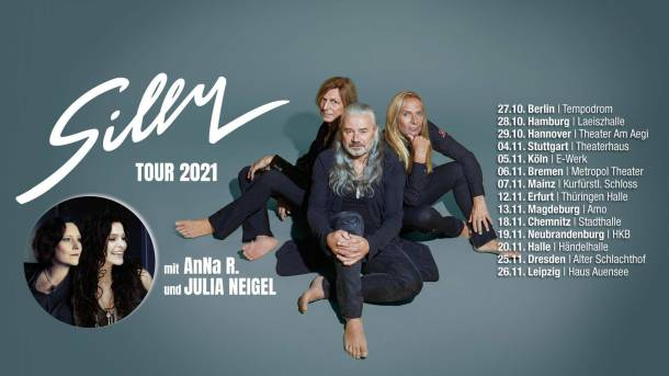SILLY · Berlin · Tempodrom 27. OKTOBER 2021