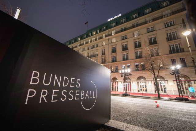 69. Bundespresseball am 21. Januar 2022 im Hotel Adlon Kempinski