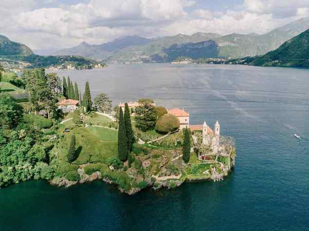 Villa del' Balbianello Como Lake