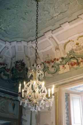 Villa Balbiano inside