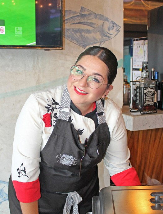 Chef Belén de Reguilete
