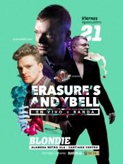 Andy Bell El cantante del dúo británico Erasure – Blondie