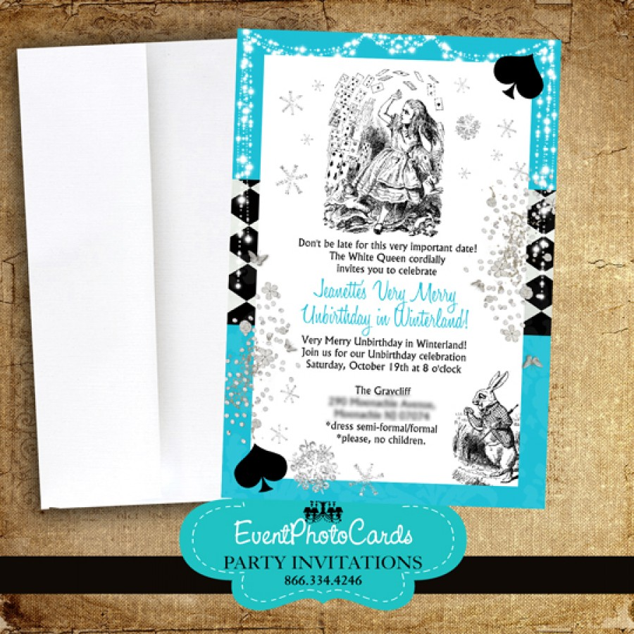 Turquoise Wedding Invitations