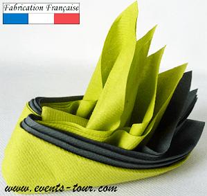 pliage de serviette airlaid oiseau tropical x1 ref 10053
