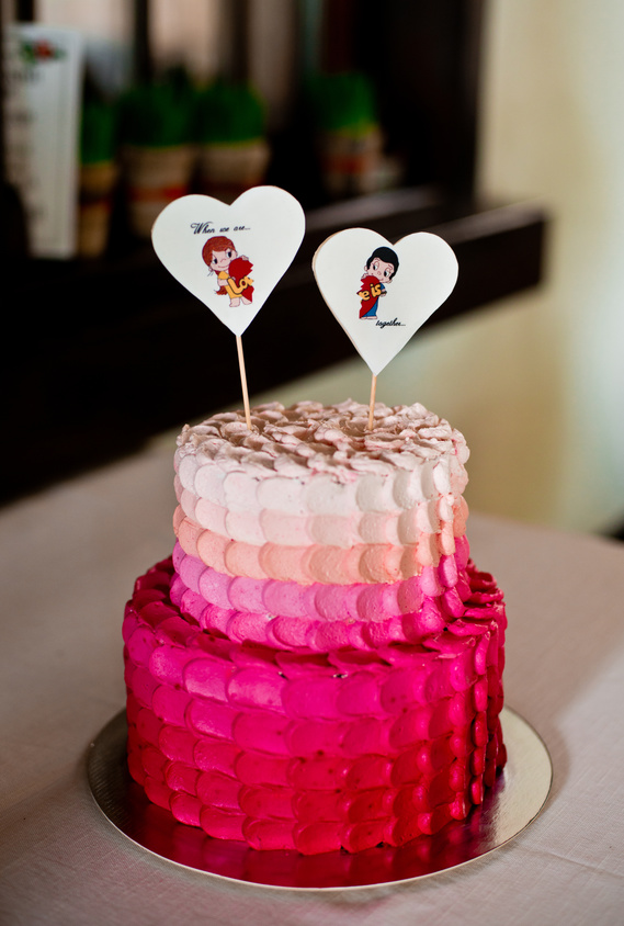 Engagement Party Planning Cake