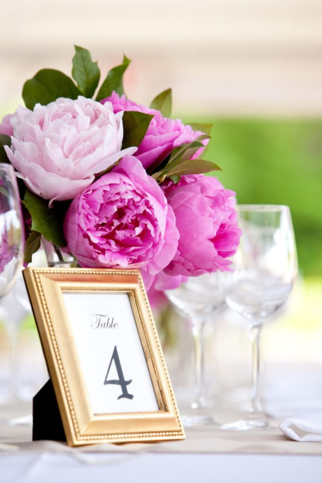 Wedding Vow Renewal Reception Decor
