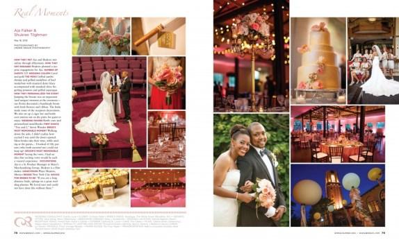 St Louis Bride Magazine Feature Aja Shukree