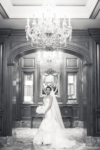 Bride at the Ritz Carlton St. Louis | Events Luxe Weddings