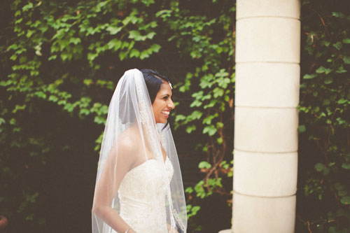 Bride at Twin Oaks Presbyterian church St. Louis | Events Luxe Weddings