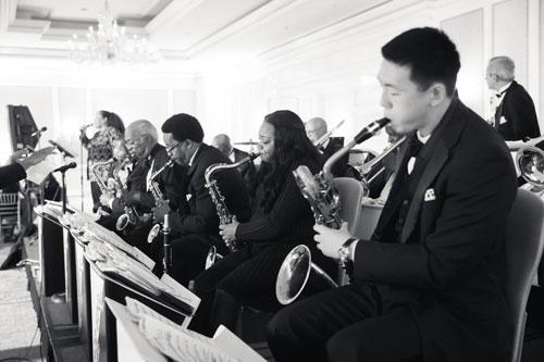 The Jazz Edge plays the Ritz Carlton St. Louis Wedding | Events Luxe Weddings