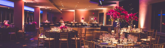 Colleen & Nick – Bold Colors at the Chase