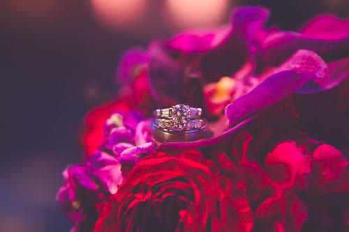 Magenta & Eggplant weddings wedding ring | Events Luxe Weddings