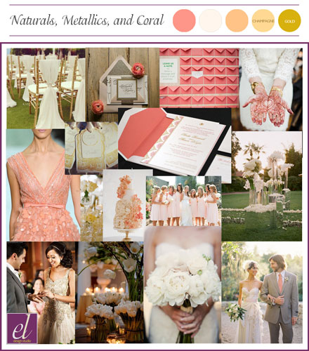Coral Blush Neutral Color Wedding | Events Luxe Weddings